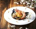 【menu Stagione 全5品】前菜盛り合わせ+欧州直輸入フレッシュポルチーニのピッツァ+旬素材のパスタ+牛サーロインのグリリア+季節のドルチェ&カフェ 旬の味覚を愉しむディナーコース ※1drink付き