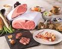 【東京ベイ幕張開業15周年記念特別コース】A3ランク黒毛和牛ロース肉とフィレ肉の食べ比べ付き・料理長おすすめの海鮮料理他全8品