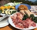 【わいわいBBQセット】牛肩ロース肉、鶏モモ肉など全7品+ホテルお任せ1品【早割14】