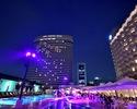 Night Pool & Italian Bar [Weekday in July]