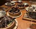 【おすすめ!鳩肉屋フルコース】前菜7種メゼからメイン鳩料理〆の鳩粥、デザートまで。       焼き鳩肉は選ぶことができます。・定番クラシック ・トマト ブラックペッパー ・ボタニカル ・チャイナ