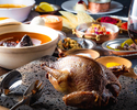 【鳩肉と古代オリエンタル料理コース】最高級ジビエ 動物界の「高麗人参」がメインのおすすめコース