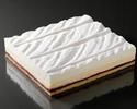 ダブルチーズケーキ【ハスカップ】クォーターサイズ(冷凍商品)
