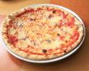 アンチョビとガーリックのピッツァ