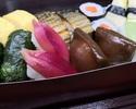 【テイクアウト】土佐田舎寿司盛合せ。旬の食材を使用した司オリジナル