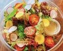 【テイクアウト】鎌倉葉野菜のサラダ(大)
