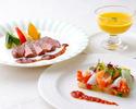 【7.8月】旬の魚料理orお肉料理を愉しむ「シェフのおすすめディナー」