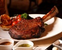 【3名さま限定】Welcome Back TOMAHAWK STEAK Course