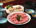 松阪牛フィレ(赤身肉)すきやきコース