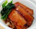 豚肉の角煮丼