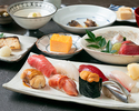 OMAKASE Lunch course meal(Semi-private room)