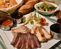 [Elementary school and under] SOCO triple meat steak all-you-can-eat