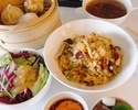 [Lunch 8/1-8/31] Jukeien set with all-you-can-eat dim sum