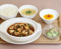 陳麻婆豆腐ランチ