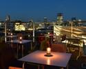 【ディナータイム】Roof Top Beer Terrace -茶茶のその時の美味しいところ4品と2時間フリードリンク-