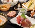 名物! かつをの藁焼き 塩たたき×鰹のお造り食べ比べコース【料理のみ】5000円⇒3000円