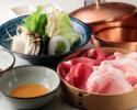 Bset:Beef loin80g+YONEZAWA pork80g