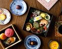 【11時~】京都老舗菓子司とのコラボレーション「和のアフタヌーンティー」