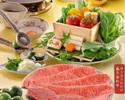 【極上牛フェア 期間限定】夏のすだちすき焼コース(極上牛) ¥17380