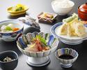 ディナー【天ぷら定食】(休止中)