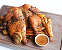 WHOLE ROASTED CHICKEN, HERB MARINATED