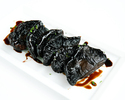 GRILLED PORTOBELLO MUSHROOMS, BALSAMIC AND SOY GLAZE