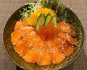 【テイクアウト】3種のサーモンといくらの親子丼