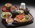 牛網焼ステーキ御膳(150g)¥7370