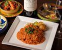 公式予約特典スパークリングワイン付き【飲み放題 アフリカンチキンコース】気軽に楽しめるポルトガル料理のショートコース