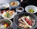 日本料理 松茸と近江牛すきやきランチ