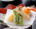 【日本料理Web予約限定】会席料理「桔梗」+ワンドリンク付6800円