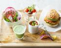 【バルゾーン】とうきょう野菜のランチプレート