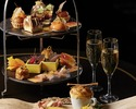 Caramel high tea-toast with champagne or non-alcoholic cocktails! TWG I like tea and coffee~