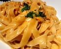 Sea Urchin Pasta + Beef Steak Course