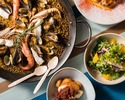 【Dinner】 Booking for Paella dinner course with free flow drinks for 2 hours