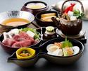 【平日:昼食】 瓢箪御膳(ひょうたんごぜん)『季節の小鍋付き』