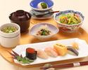寿司ランチ「凪」