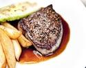 weekdays only starter + 2main course + dessert + coffee 9100yen→8200yen