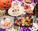 [Happy Halloween !!] Cheese fondue Halloween course 7 dishes 3500 yen (excluding tax)
