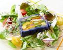 【Go To キャンペーン特別ランチコース】5,210円 肉料理・魚料理・ヨーロッパ野菜を使ったランチコース全5品