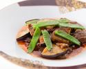 【近江牛ディナー】ふかひれ(胸鰭)の上海風煮込みに近江牛など全7品+1ドリンク