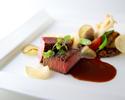 ディナー【recommandé chef】 乾杯にスパークリングワイン一杯付