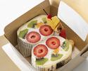 【事前決済TAKE OUT 萌え断サンドウィッチBOX】3種のフルーツサンドウィッチ