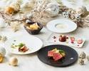 【★Xmas2020★】クリスマス特製デザート付き!前菜メインが選べるクリスマスランチコース
