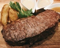 【デリバリー】<25%OFF>ポンドステーキ ~フランス産シャロレー牛~