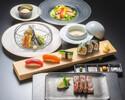 【ランチ・ディナー】鮨・天麩羅・ステーキコース