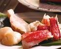 【季節限定スペシャルコース】季節の味覚を味わう タラバ蟹&銘柄牛鉄板焼きスペシャルコース
