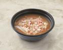 タラバ蟹肉入りフカヒレの醤油煮込みスープ