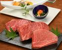 ≪鉄板焼≫特選銘柄牛ランチコース(米沢牛サーロイン)