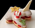 2021年 クリスマスケーキ 人気の『飛行機シュ-クリスマスVer』